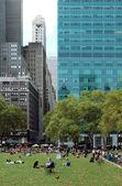 Parque Bryant, ciudad de nueva york — Foto de Stock