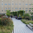 High Line. New York City. Elevated pedestriPark — Stock Photo #32762571