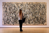 Museum of Modern Art in New York City — Stock Photo