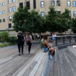 High Line. New York City. Elevated pedestriPark — Stock Photo #33635781