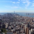 New York City Aerial panoramic view — Stock Photo