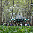Stock Photo: Bryant Park, New York City