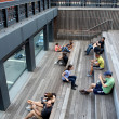 High Line. New York City. Elevated pedestriPark — Stock Photo #39228121