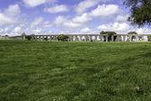 Agua de prata acquedotto (acquedotto dell'acqua d'argento) a Évora, Portogallo — Foto Stock