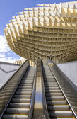 Metropol Parasol in Plaza de la Encarnacion on 31 of May 2014 in Sevilla,Spain. — Stock Photo