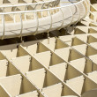 Panoramic view in the top of Metropol Parasol in Plaza de la Encarnacion on 31 of May 2014 in Sevilla,Spain. — Stock Photo #49283277