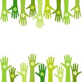 Zielone życia — Wektor stockowy