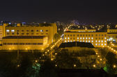 00015-Night city of Krasnodar — Stok fotoğraf