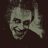 Vampir drakula grunge poster. — Stok Vektör
