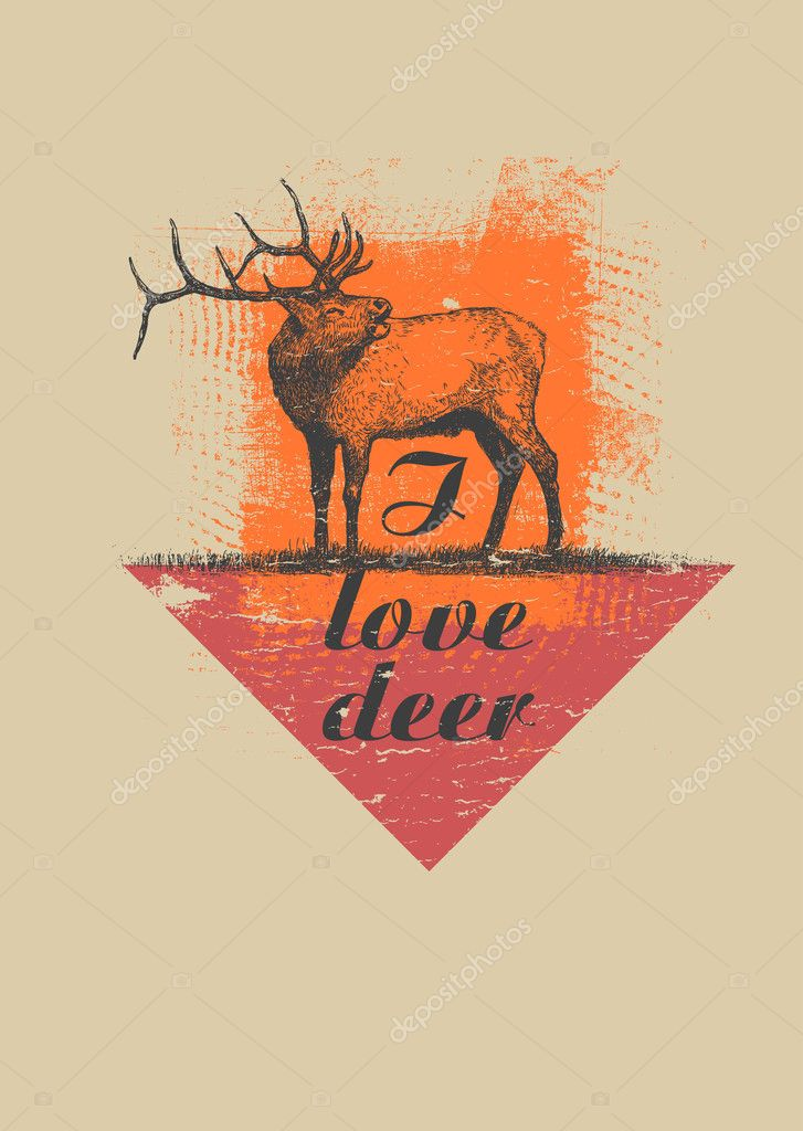 Hipster Poster Design Hipster Fashion Design Quot i Love