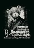 Retro design Congress Anonymous Psychoanalysts — Stock Vector