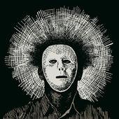Anónimo hombre de la máscara — Stockvector