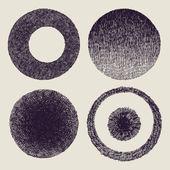 Textures set — Stock Vector