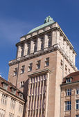 Zurich University Tower Close-up — Stock Photo