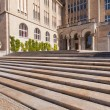 Zurich University main building entrance — Stock Photo