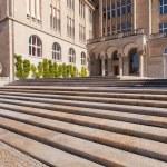 Zurich University main building entrance — Stock Photo #34808991