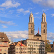 Zurich, Great Minster — Stock Photo #37352459