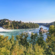 Stock Photo: Rhine Falls & Castle Laufen