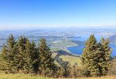 View from Mt Rigi — Stock Photo