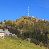 Top of the Mt. Rigi — Stock Photo