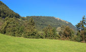 Landscape on the Mt. Rigi — Stock Photo