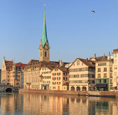 Zurich, the Lady Minster — Foto de Stock