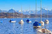 Lake Lucerne in Winter — Stock Photo