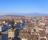 Zurich Cityscape — Stock Photo