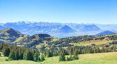 View from Mt. Rigi — Stock Photo