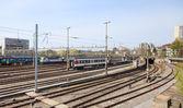 Bern Main Station Railways — Stock Photo