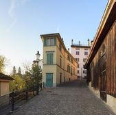 Old town street in Zurich — Photo
