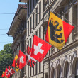 Flags in Bern — Stock Photo #47935963