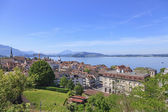 Zug cityscape — Photo
