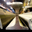Railway Rail - Stock Photo