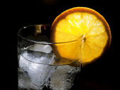 Tonic highball glass — Stock Photo