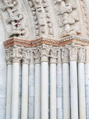Romanesque detail — Stock Photo