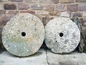 圆磨石头 — 图库照片