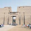The temple of Horus, Edfu - Stock Photo