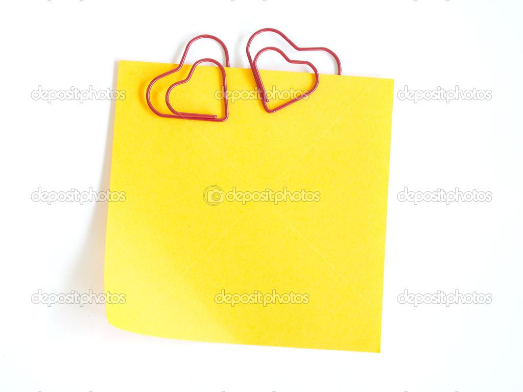 paper clip heart