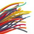 Royalty-Free Stock Photo: Multicolored computer cable isolated
