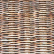 Rustic woven wicker - Stock Photo