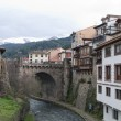 Stock Photo: Typical houses and ancient pots in Cantabria