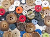 Pile of buttons — Stok fotoğraf