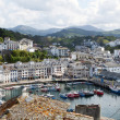 Seaport of luarca — Stock Photo