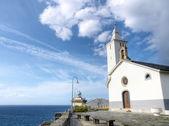 Church of Luarca — Stock Photo