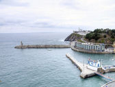 Port of Luarca — Stock Photo