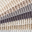Pattern woven wool fibers — Stock Photo #22586129