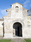 Visigothic church of St. John of bays in the province of Palencia — Stock Photo