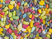 Bright colorful stones — Stock Photo