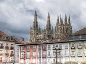 Catedral de burgos, espanha — Foto Stock